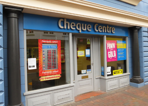 Cheque Centre Store Loans
