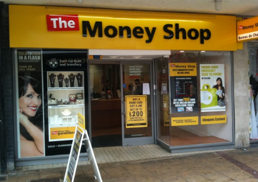 The Money Shop Store Loans